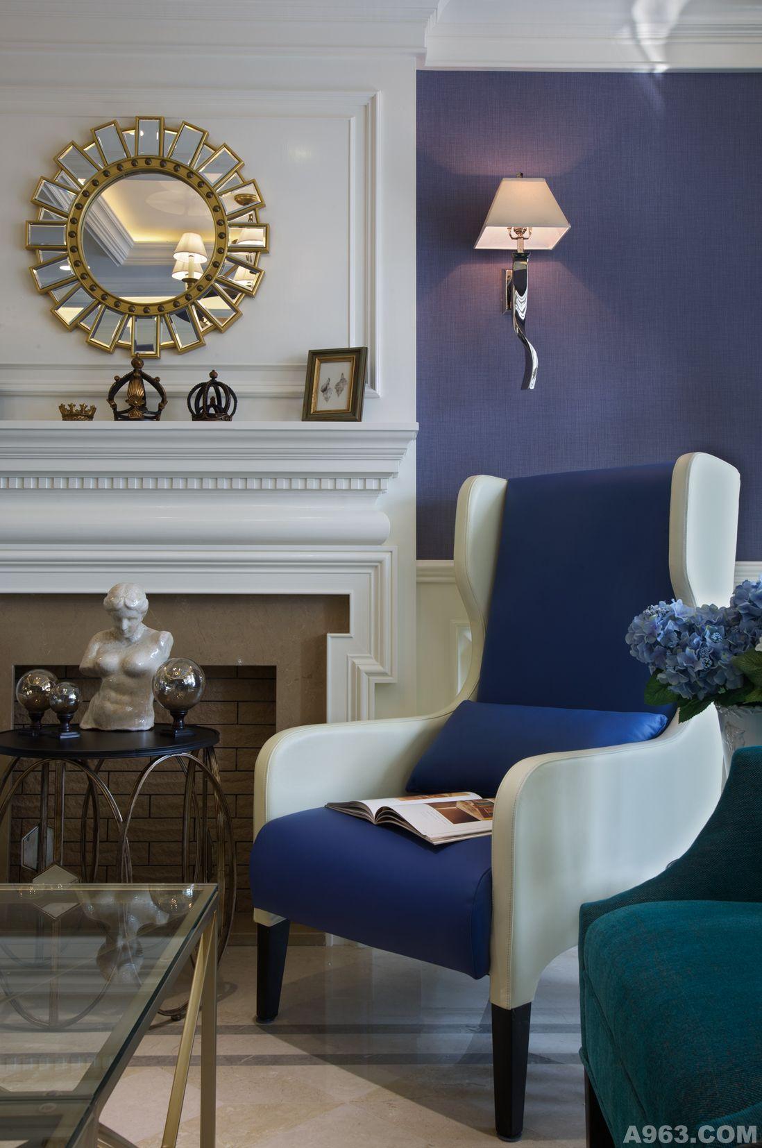 蓝调的优雅 - 公寓设计 - 第7页 - 葛晓彪设计作品案例
