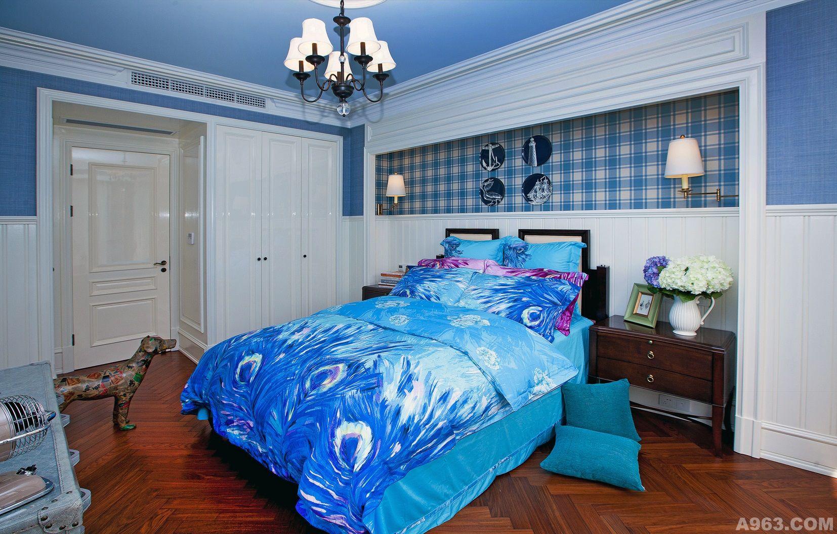 蓝调的优雅 - 公寓设计 - 第9页 - 葛晓彪设计作品案例