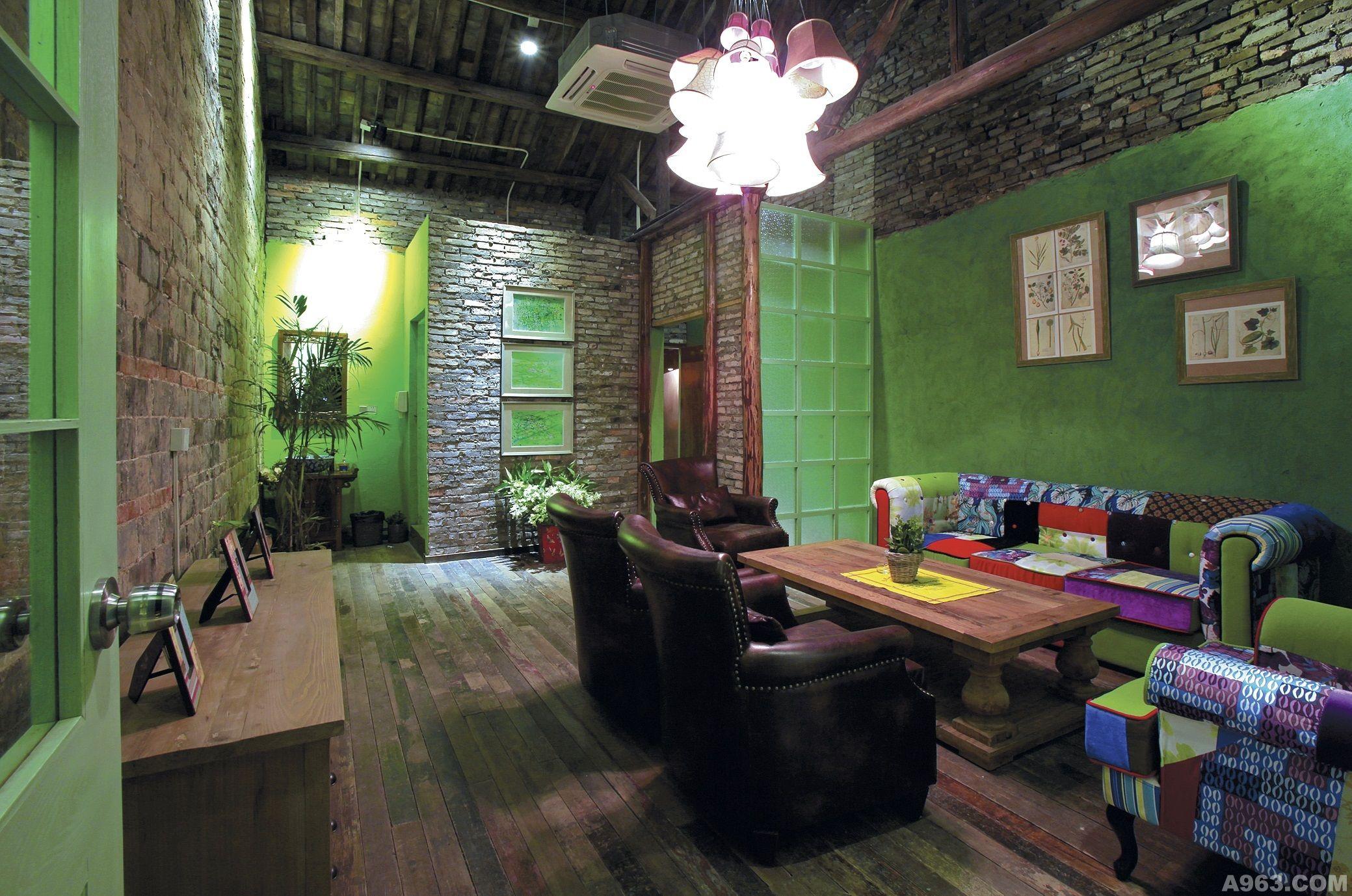 浅绿咖啡小院 - 餐饮空间 - 第3页 - 刘宏裕设计作品