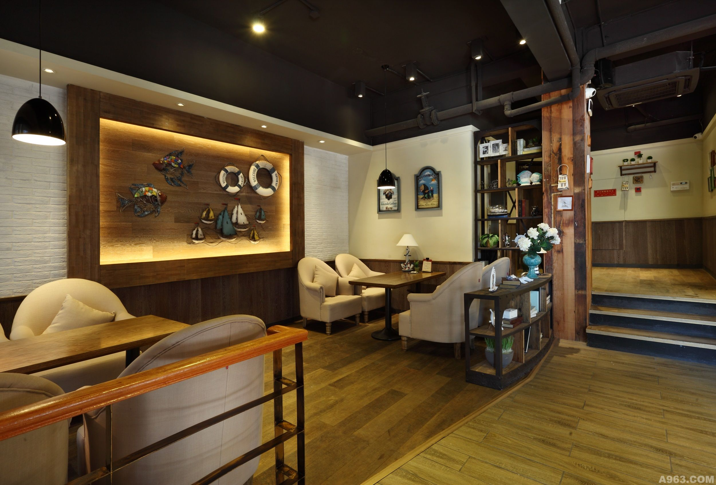 圣巴里咖啡餐厅 - 餐饮空间 - 第4页 - 卢路设计作品
