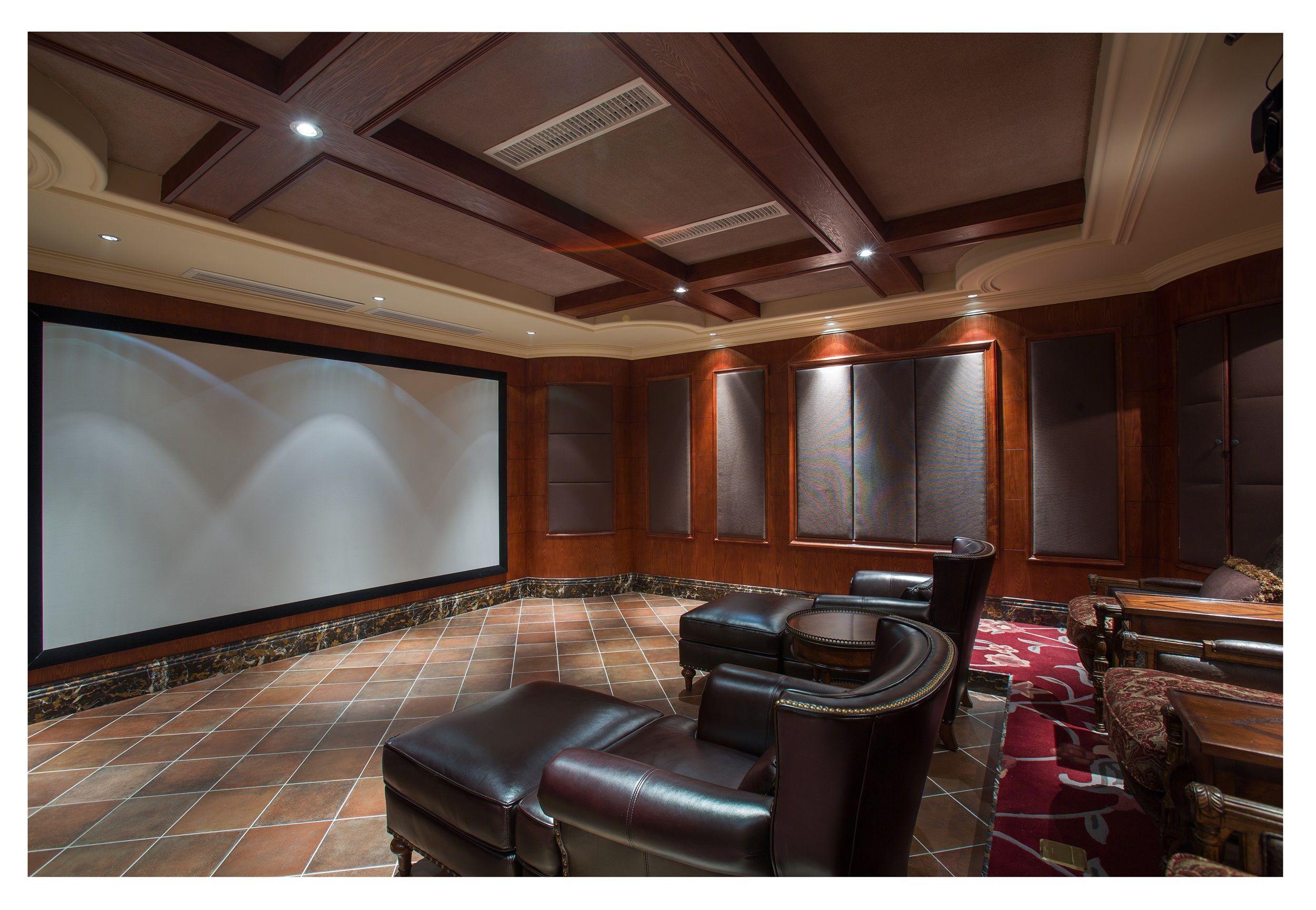 地下室提供了休闲娱乐功能,台球室,桌游室,影视厅,休闲茶吧.